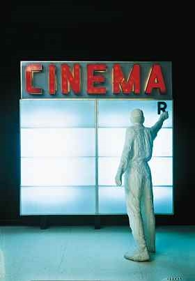 Cinema,  George Segal, 1963