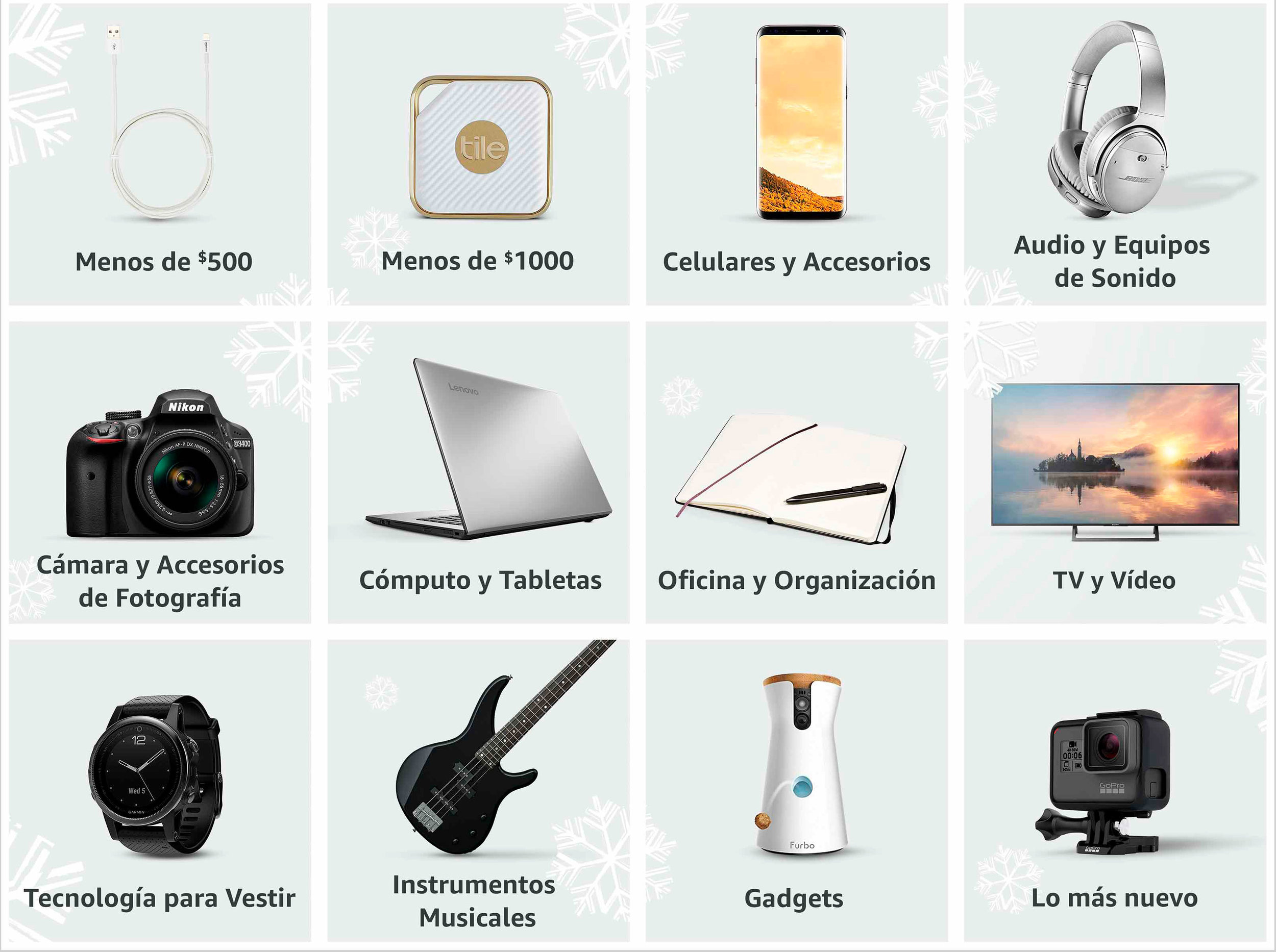 CE Gift Guide Grid