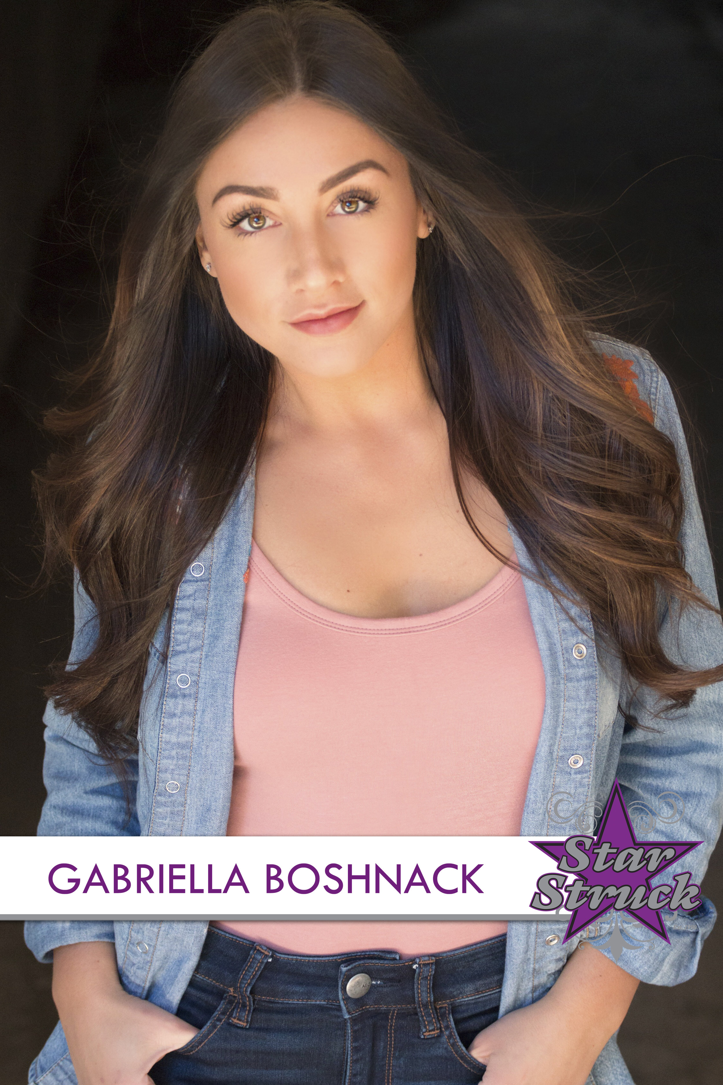 GABRIELLA BOSHNACK   Gabriella started dancing at the age of 3 here at Star Struck Dance. She has trained in all genres of dance and has taken class with major choreographers at Broadway Dance Center, Millennium Dance Complex: Tokyo, and many dance conventions. Gabriella is represented by of one of the biggest talent agencies on the east and west coast, MSA Agency (McDonald Selznick Associates.) Gabriella's most recent credit was being a swing on the National/International Tour of the Broadway show Bring It On: The Musical. While pursuing her professional dance career Gabriella loves teaching and choreographing here at SSDS!