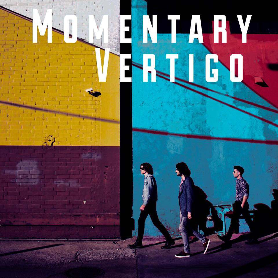 Cover of Stray Monroe's EP, 'Momentary Vertigo'