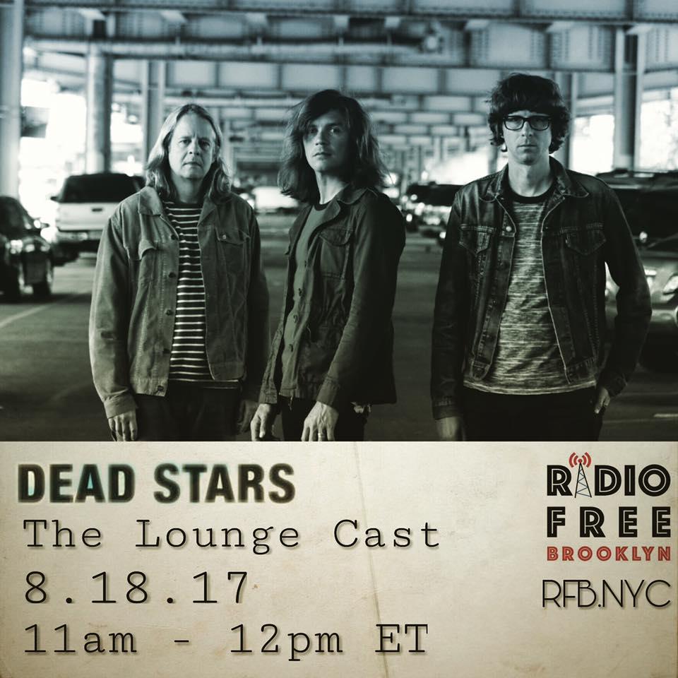 Dead Stars gig poster