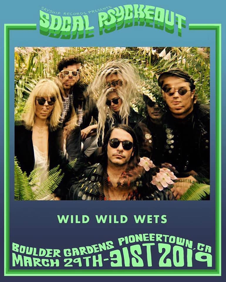 Wild Wild Wets SoCal Psychout Poster