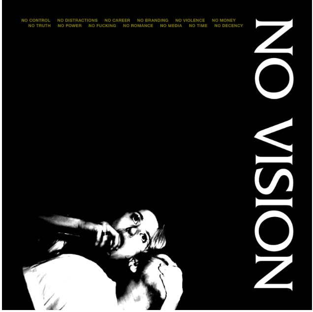 Cover of Grim Streaker's LP, 'NO VISION'