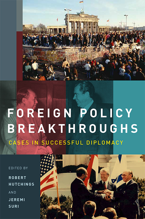 Foreign Policy Breakthroughs Book Cover Art Direction: Ciano Design