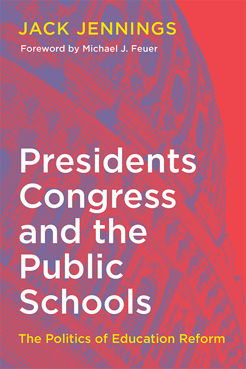 Presidents, Congress and the Public Schools Book Cover Art Direction: Ciano Design