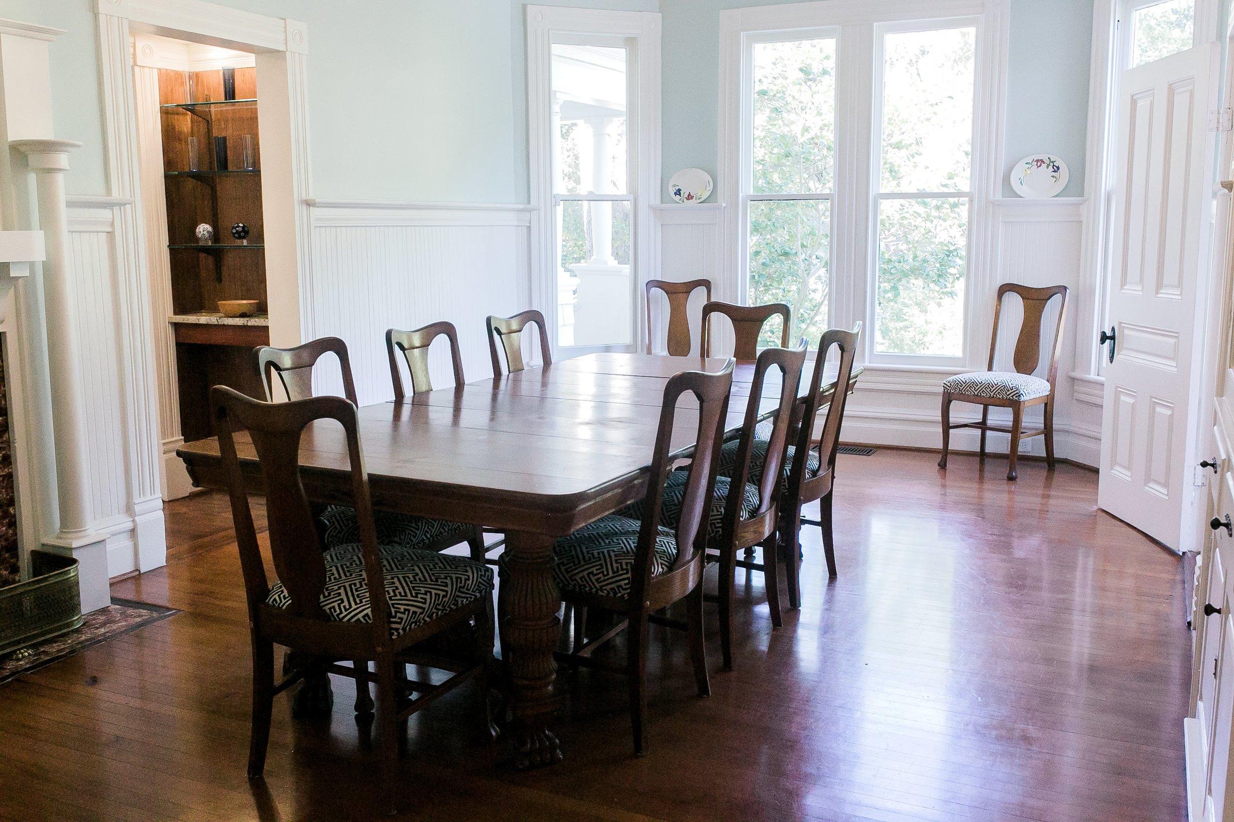 The Formal Dinning Room