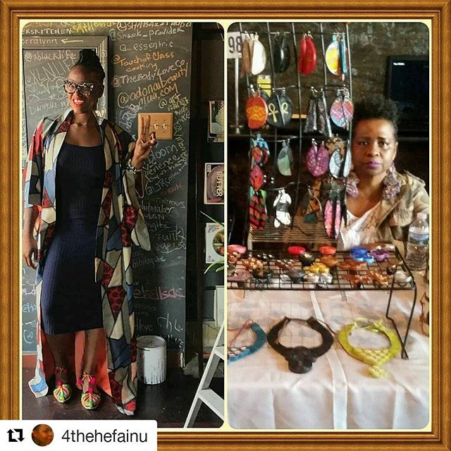 #Repost @4thehefainu ・・・ Just got a last minute opportunity folks, come on out and support two female blackowned businesses! @4thehefainu will be vending at @thespicesuite on this Sunday, Aug. 20th, located at 6902 4th St. NW, DC, 20012, from 1-5 pm. I should have some new pieces, and Angel has a nice selection of spices, loose teas, sauces, balsamic vinegars, etc. Hope you can share some of your day with us!