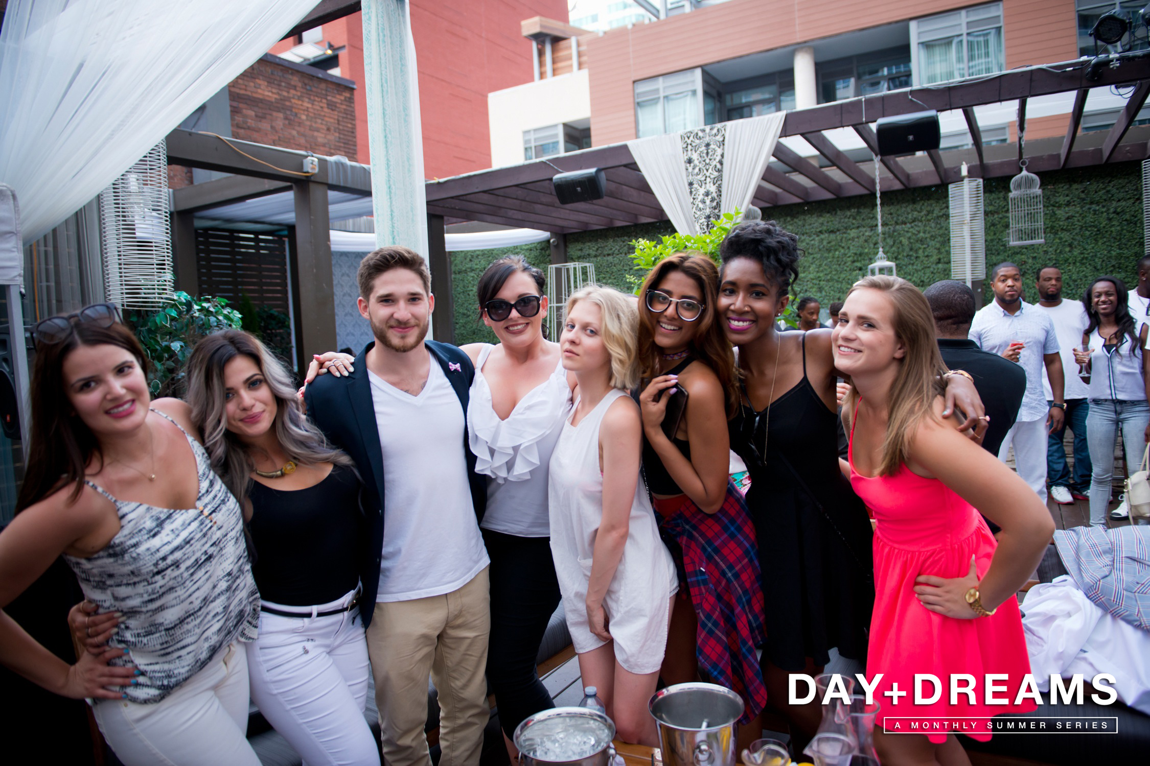 DAY DREAMS July 19 | Maison Mercer Rooftop Terrace