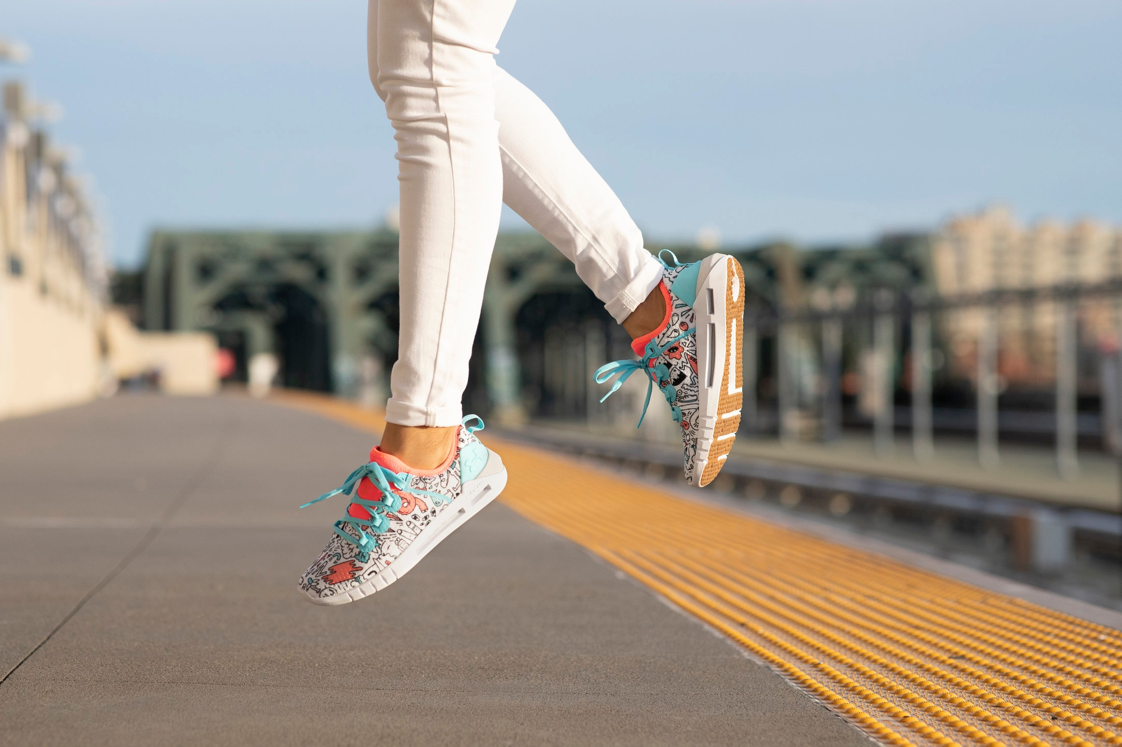 Art Direction of Icon Shoe Photoshoot - Client: Under Armour