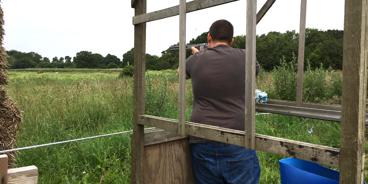 4man Squad Clay Shoot Competition 23 June 2019 - photo by Keith Marlow