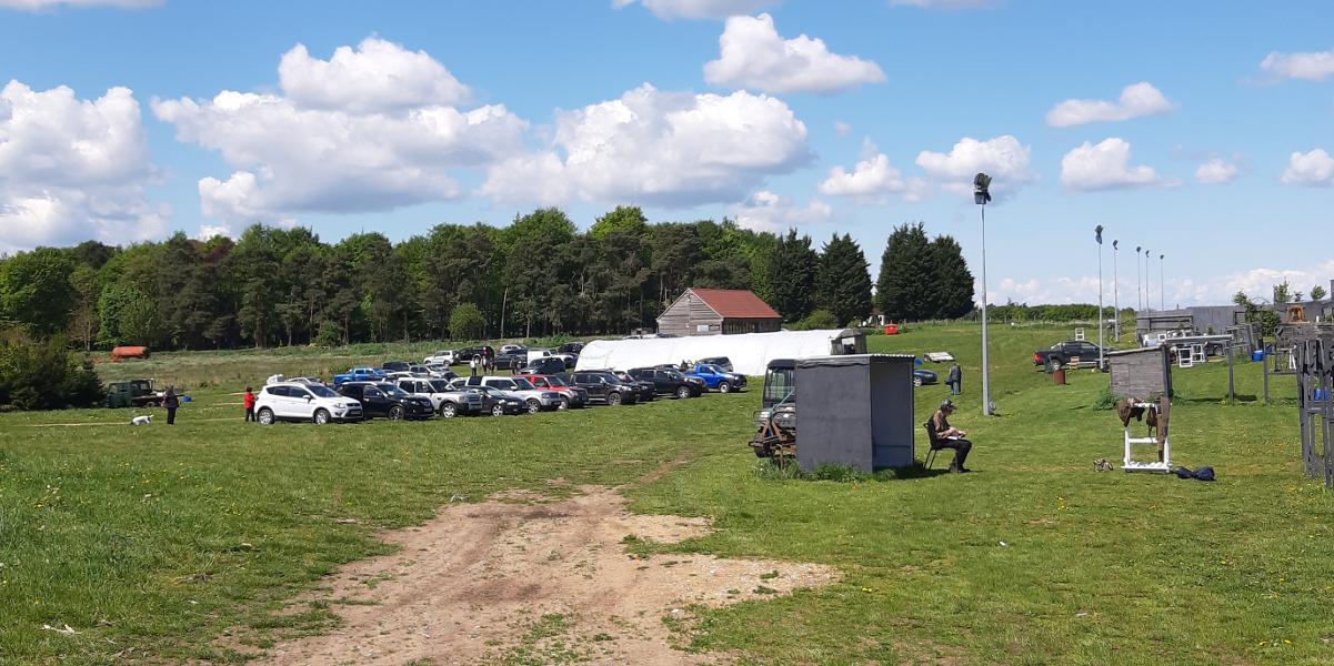 View of Chalk Farm Clay Ground - photo by Stella Gooch