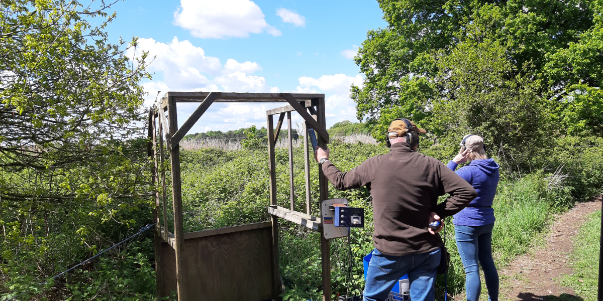 Glorious Day Clay Shooting at Chalk Farm Clay Ground - photo by Stella Gooch