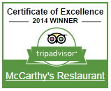 McCarthy s Restaurant   Widget Center   TripAdvisor for Business.png