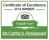McCarthy s Restaurant   Widget Center   TripAdvisor for Business.png