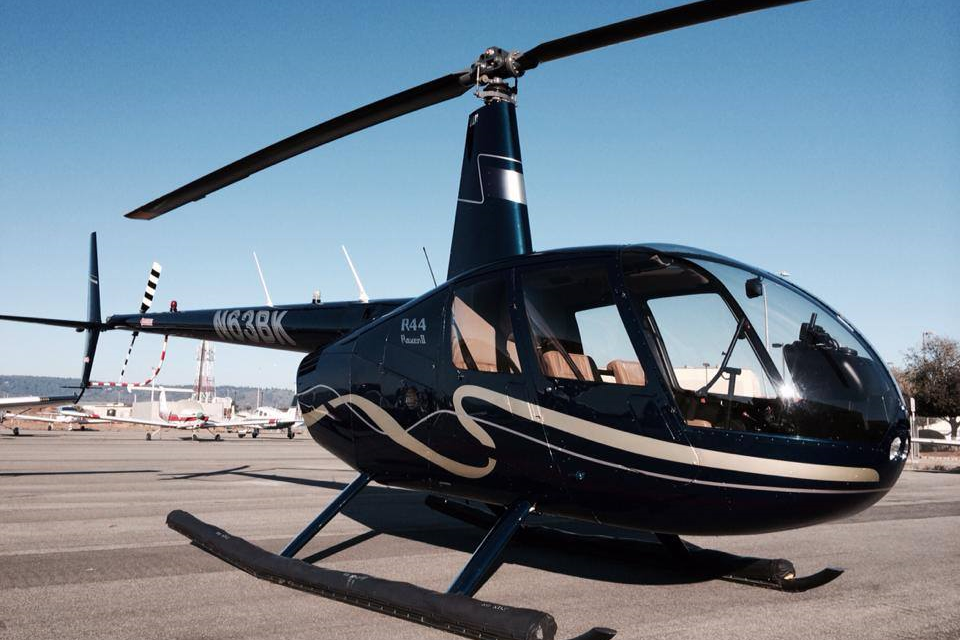 N63BK - R44 Raven II  Aircond. Garmin G500 Glass cockpit, Pop-out Floats $560 Hr.