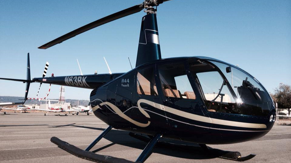 R44 Helicopter - up to 3 passenger (or 500 lbs.)  All inclusive price - $5,900