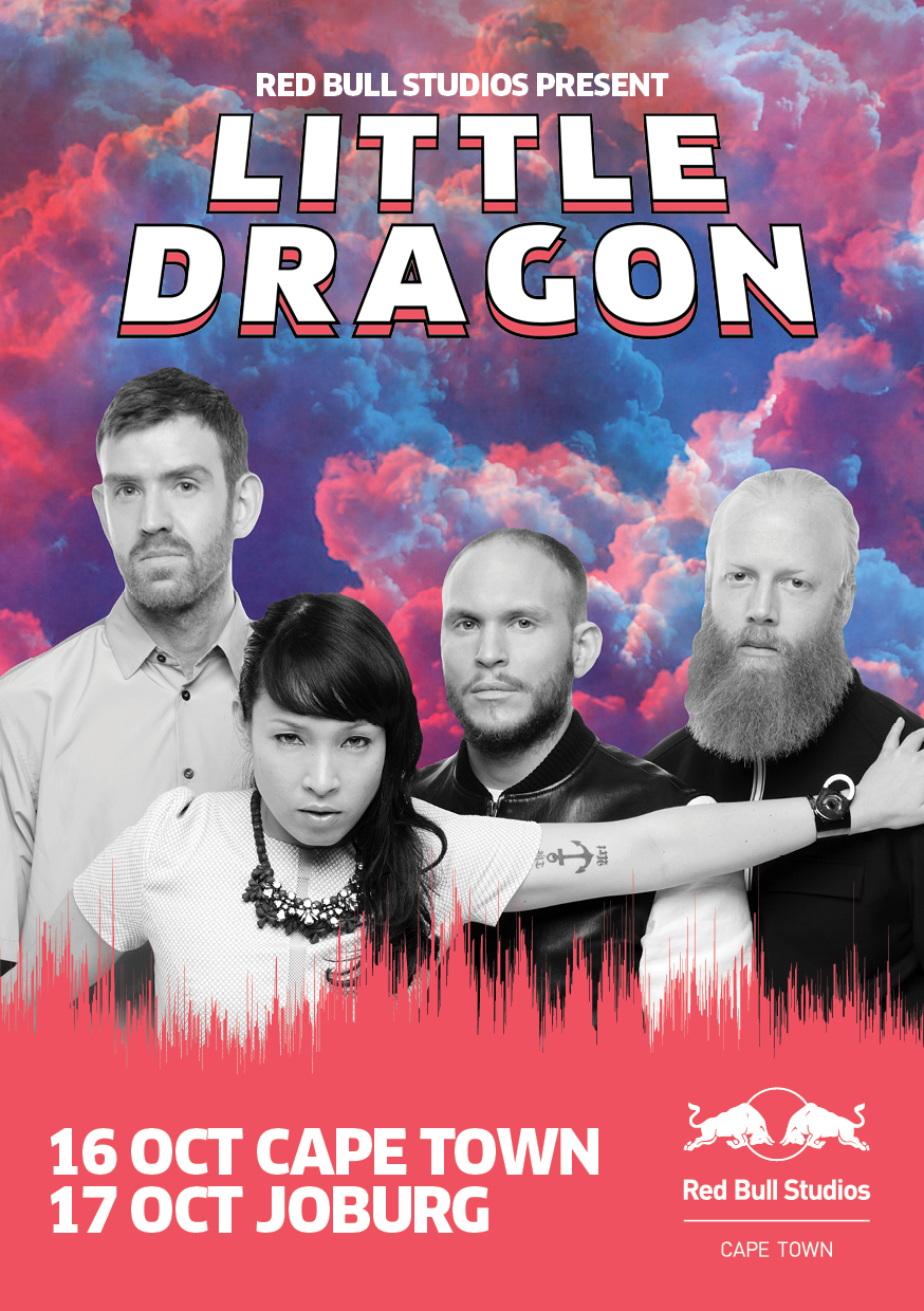 Yuki Nagano, Erick Bodin, Fred Wallin and Haken Wirenstrand make Little Dragon and they are coming back to SA, from the last time they were here in 2012.