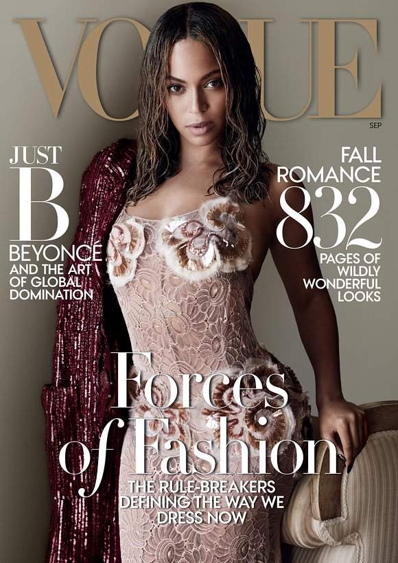 """Beyonce Carter, """"VOGUE"""" cover"""
