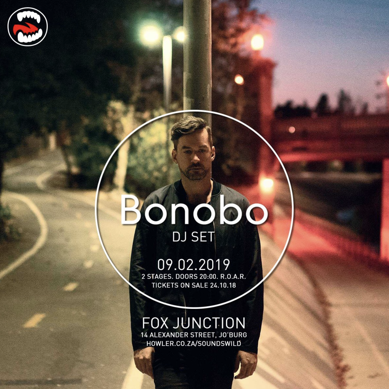 The music God's have heard our cries and have finally brought Bonobo to our shores.    Bonobo , is a British musician, producer and DJ based in LA He initially debuted with a trip hop aesthetic, and has since explored more upbeat approaches while experimenting with jazz and world music . His electronic sound incorporates the use of organic instrumentation, and is recreated by a full band during his live performances.  Green's work has given him a cult following. He has collaborated with various artists, and has also recorded and performed under the name Mr Blue and with Robert Luis from Tru Thoughts as Nirobi and Barakas.