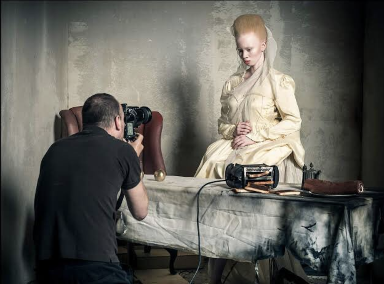 2018 Pirelli Calendar, which was shot by Tim Walker and styled by the editor of British Vogue, Edward Enninful.