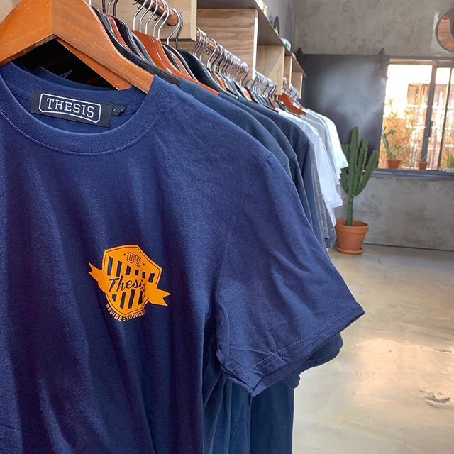 We have restocked the most loved #thesislifestyle Police Academy tee // R200. #soweto #defineyourself