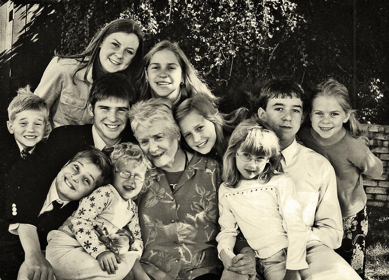 Madge and Grandkids