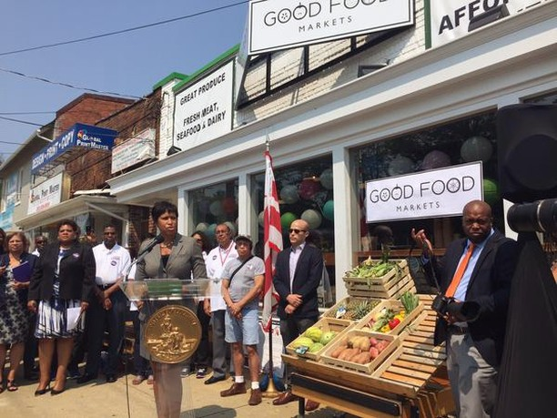 Good Food Markets was honored to host Mayor Bowser during her announcement of the District's plan to raise the minimum wage to $15/hour, earlier this year. Our organization has been a leader in this conversation and are excited for the rest of the city to follow suit in this change. We're committed to developing careers, not just providing a job.