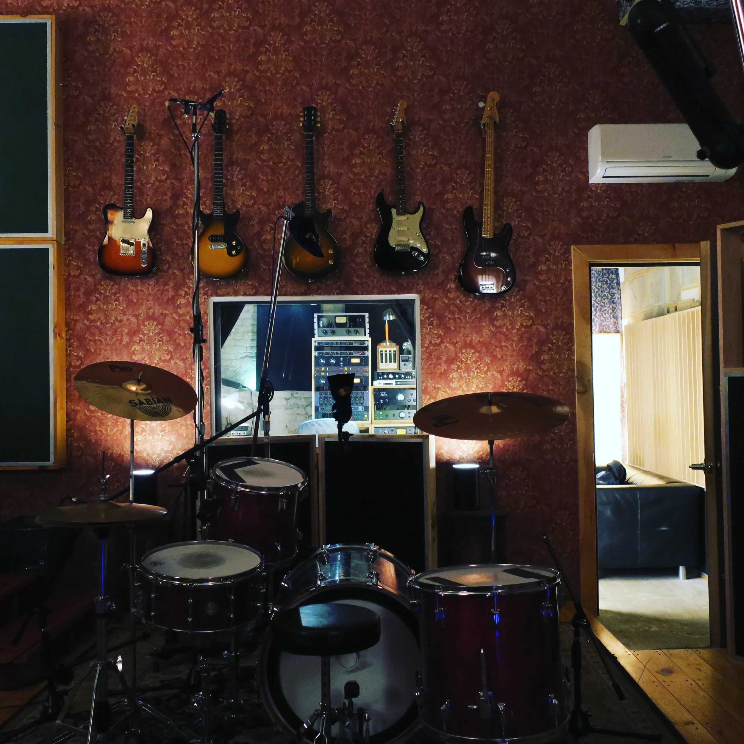 Drums and Control Room.JPG