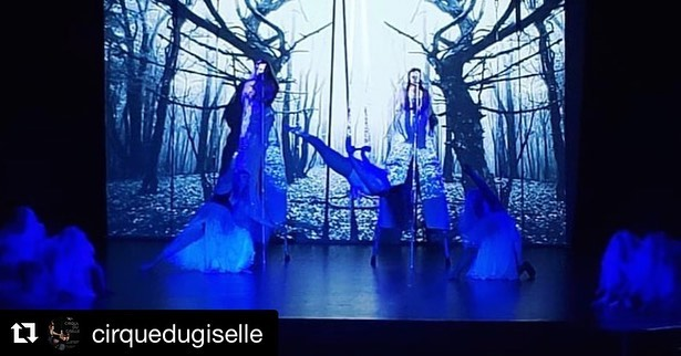 #Repost @cirquedugiselle ・・・ And we're up! We had so much fun tonight during our opening night at Cirque du Giselle. Loved seeing so many friendly faces in the audience. We have just two more shows - tomorrow Sat 22nd and Sunday 23rd. Hope to catch you all there! . . . #hff #hff19 #hollywoodfringefestival #hollywoodfringefestival2019 #giselle #giselleballet #aerialperformance #aerialist #dance #contemporarydance #circuseverydamnday #cirque #wilis #aeriformarts