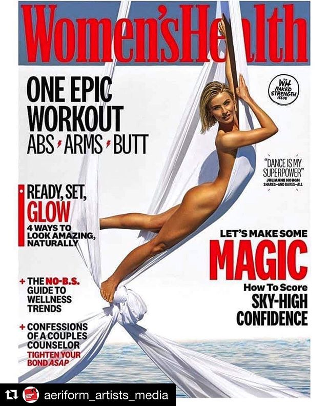 No it's not me :) But it is the fabulously talented Julianne Hough. I had the honour of coaching her on silks and was the aerial consultant for this cover shoot for Women's Health Magazine. Thanks to the brilliant Production team @verucablue and @allelon_ruggiero  @aeriformarts turned out fabulously ❤️❤️ ••••••• #Repost @aeriform_artists_media ・・・ A couple months ago we put up a vague post in regards to shooting with a aqua aerial rig in the desert. Today we get to reveal the end product of that shoot. It was a pleasure providing the aerial production for  @womenshealthmag , Crawford & Co. productions, and @brianbowensmith  on this shoot. Many thanks to our very own @janeozborn for her technical expertise and to @juleshough for all of her patience and strength. We think the final result is stunning. #photoshoot #covershot #aerialistsofig #aerialsilks #nude #aerialfitness #womenshealth #aeriformartshollywood