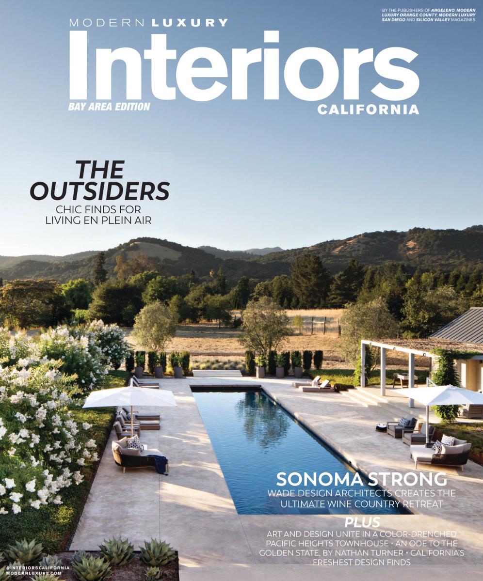 Modern Luxury Interiors California  2018  Sonoma Residence