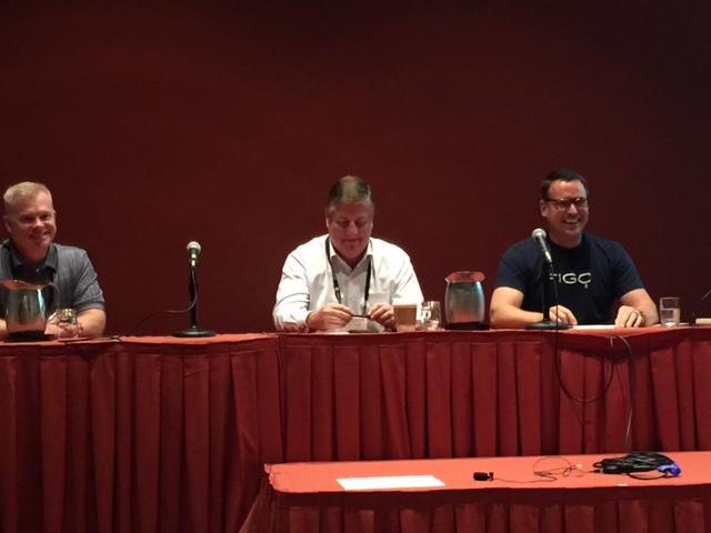 Jim Streicher, Tony Jacob, and Rusty Sproat