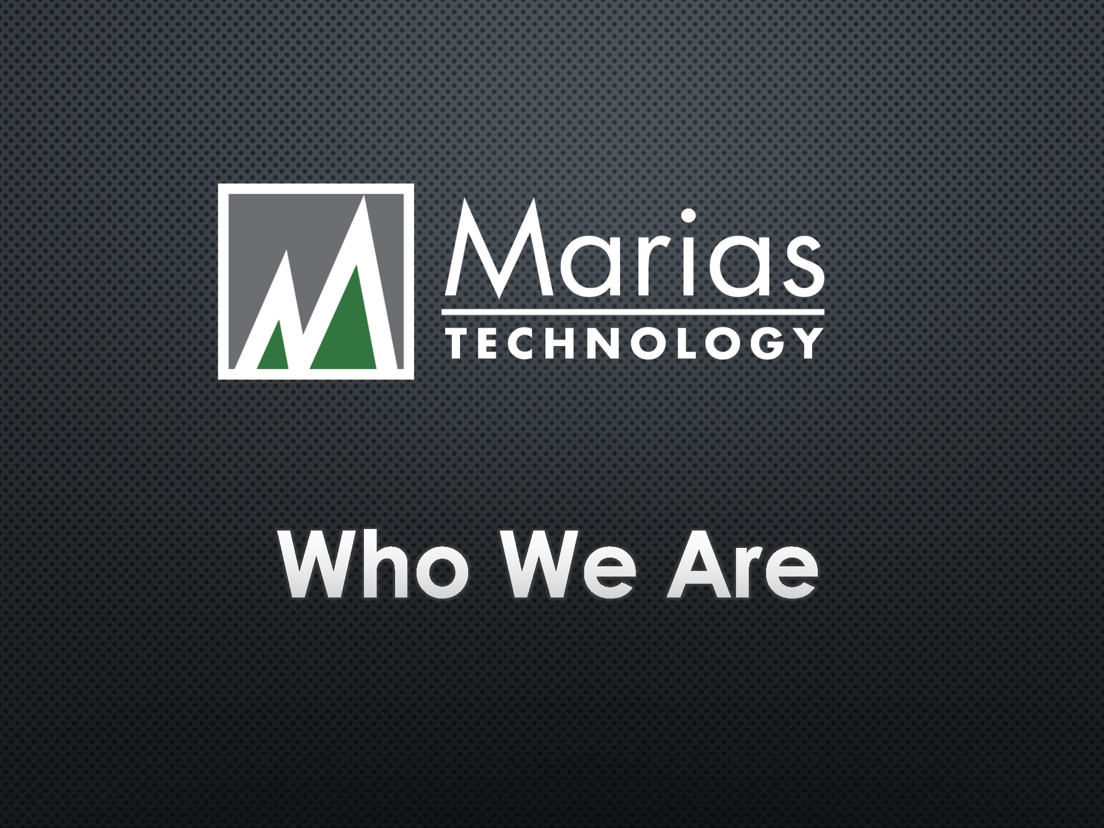 Who is Marias?