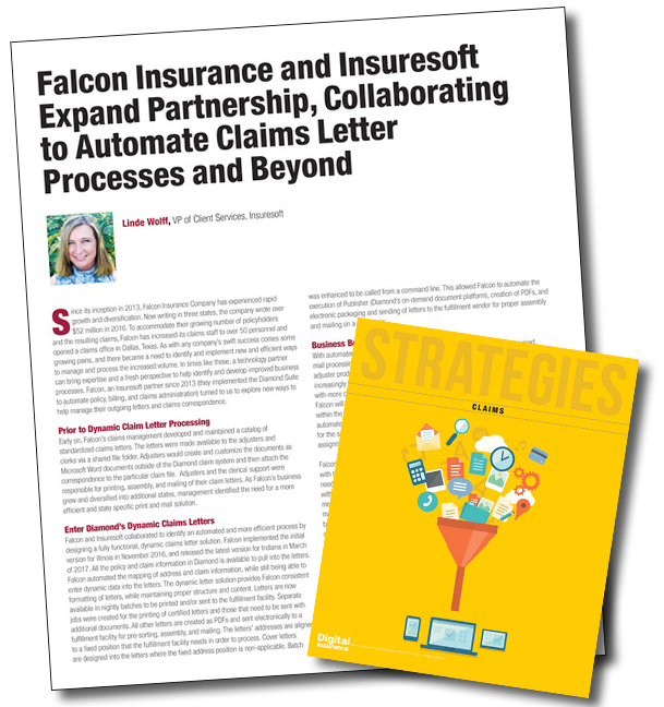 First published in Digital Insurance Strategies Claim magazine.