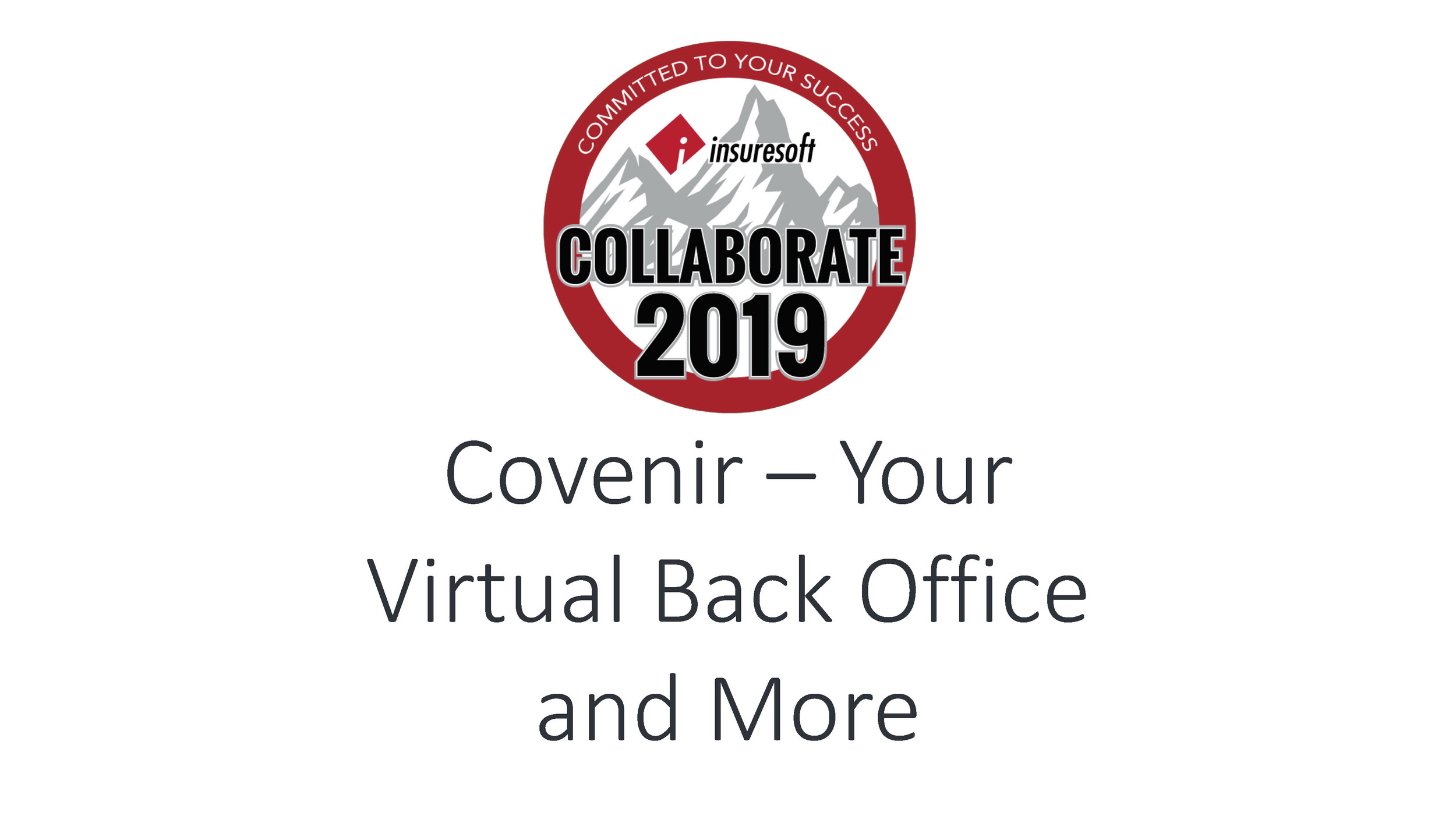 Your Virtual Backoffice and More - Covenir