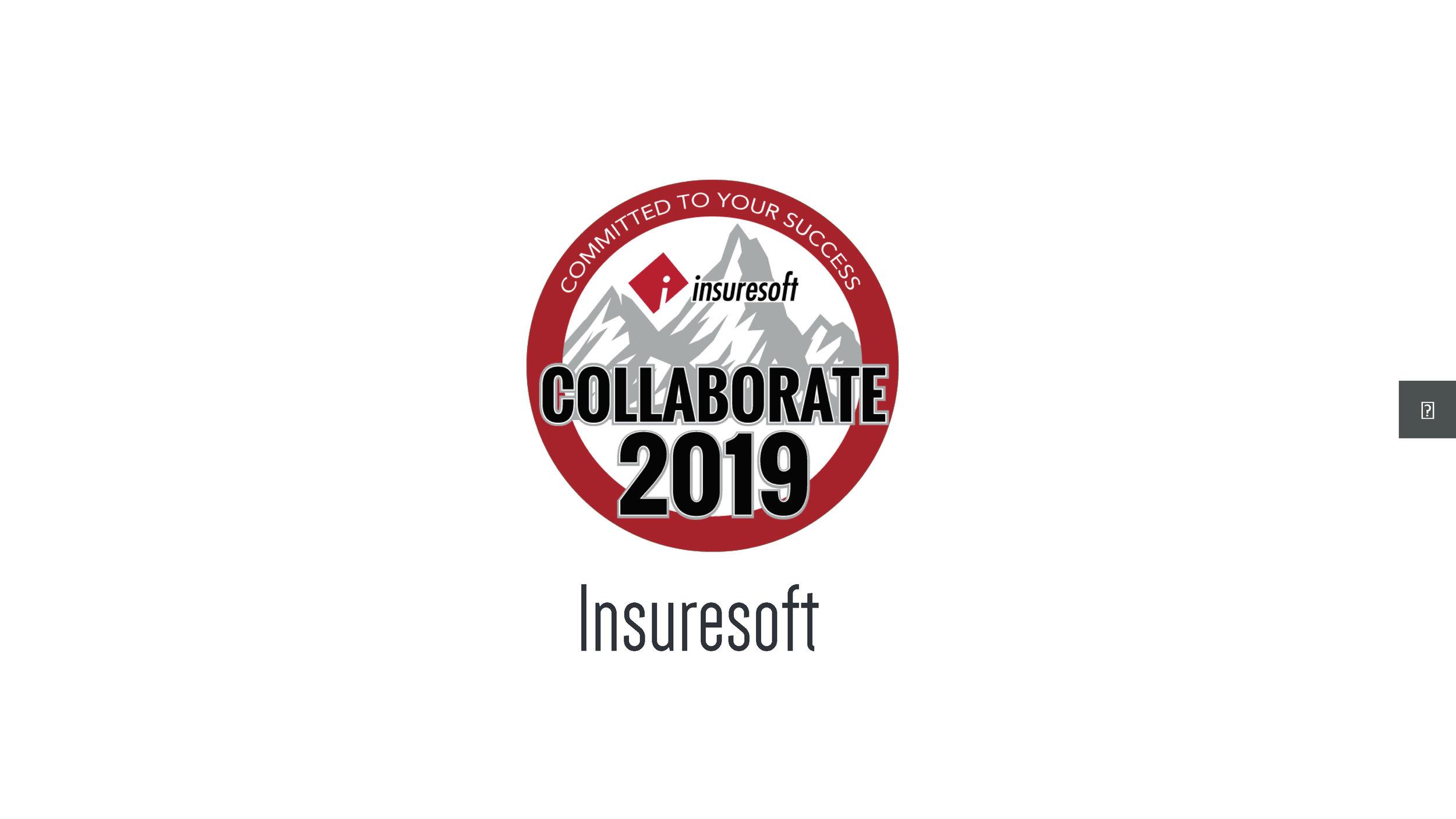 Opening & Insuresoft Update