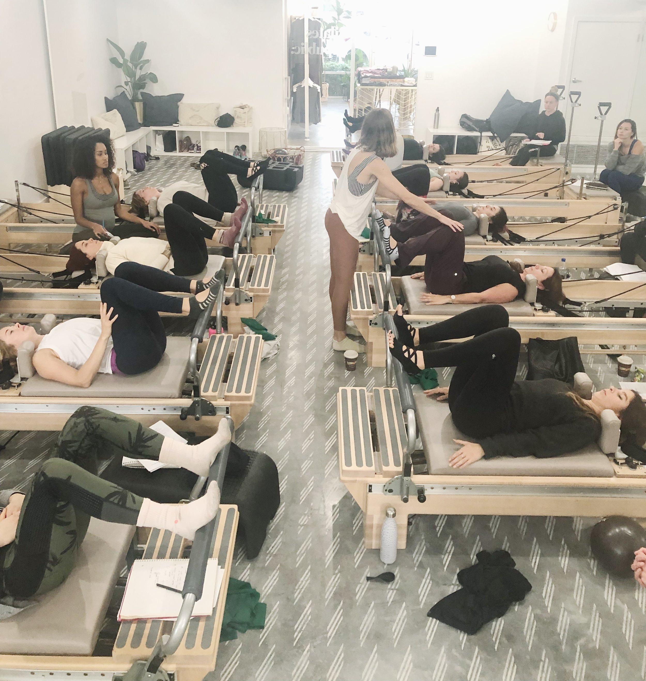 Prenatal Pilates Teacher Workshop