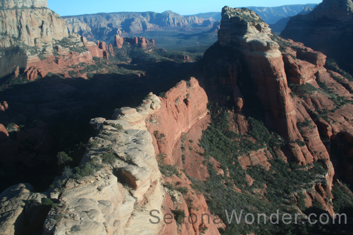 Sedona Red Rocks from A Helicopter