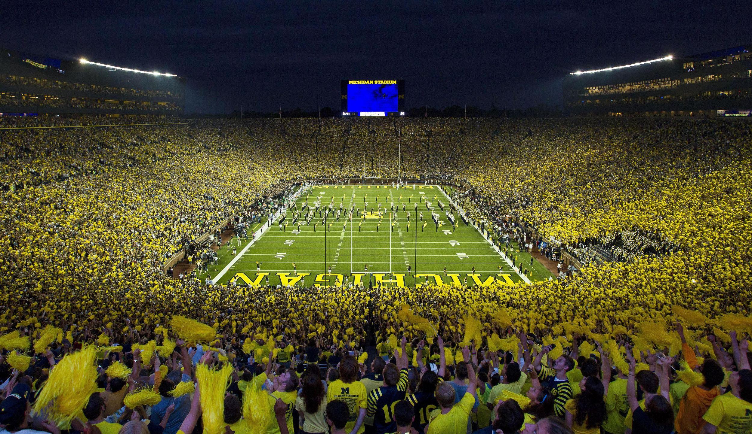 University of Michigan Football Game