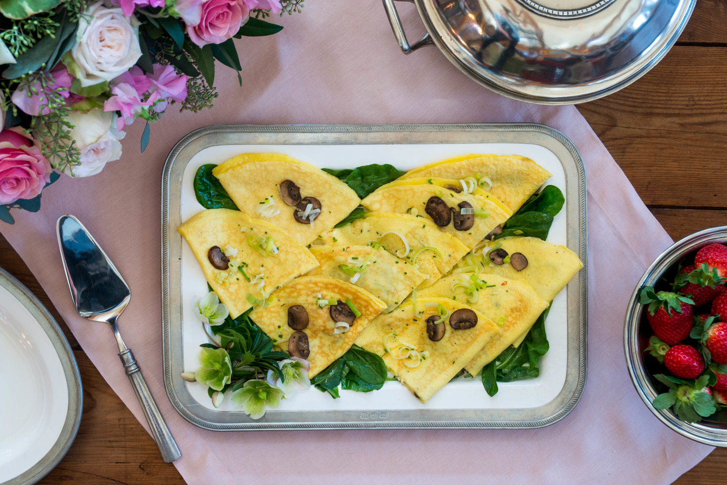 Julia's Omelette - Often a test of culinary skill, many home chefs relegate the attention to detail needed to perfect the omelette to Sunday brunches in fine hotels. This Brazilian recipe, however, could be called the