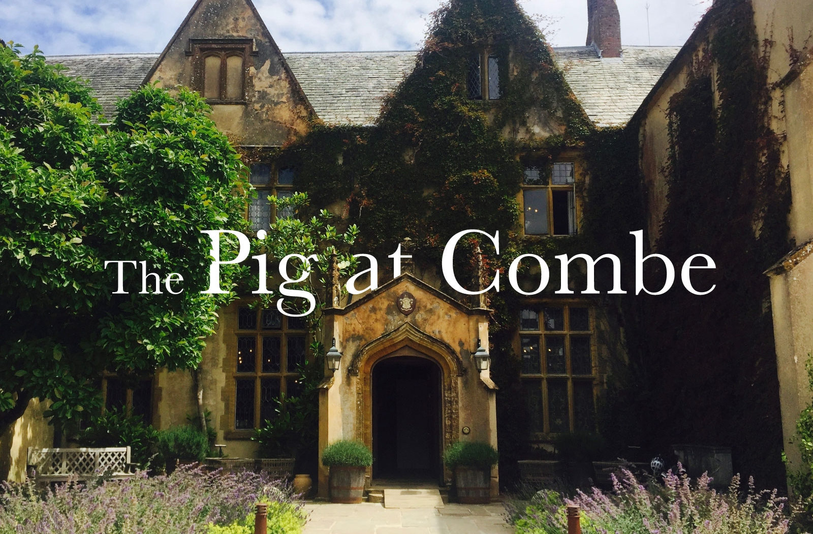 The Pig at Combe - Honington, EnglandNestled in the Arabian horse studded verdant countryside of Devonshire, England, The Pig at Combe is a rural Elizabethan 3,500 acre topaz walled country manor retreat complete with civilized afternoon tea served by manicured butlers in a room replete with velvet sofas, a roaring fire, gilt mirrors, and a 19th century oil painting of the manor that looks as if it jumped from the pages of Emily Brontës Wuthering Heights.With all the the amenities and exceedingly more charm than most five star hotels, this country estate surrounded by picture perfect English countryside makes the 1.5 hour train journey from London the perfect urbanite escape.