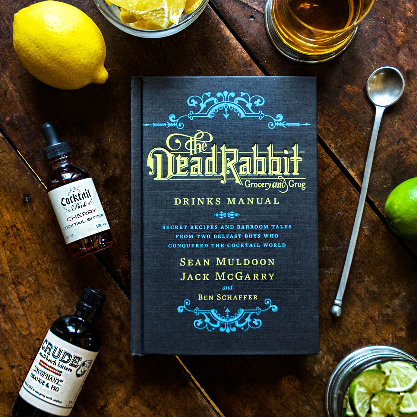 The Dead Rabbit Drinks Manual, $27