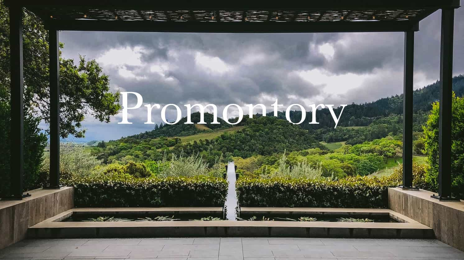 Promontory Winery - Napa ValleyAn unexpected and breathtaking Napa Valley panorama of converging geological formations unfolds into a landscape revealing Promontory, the world's most beautiful and America's most coveted vineyard.