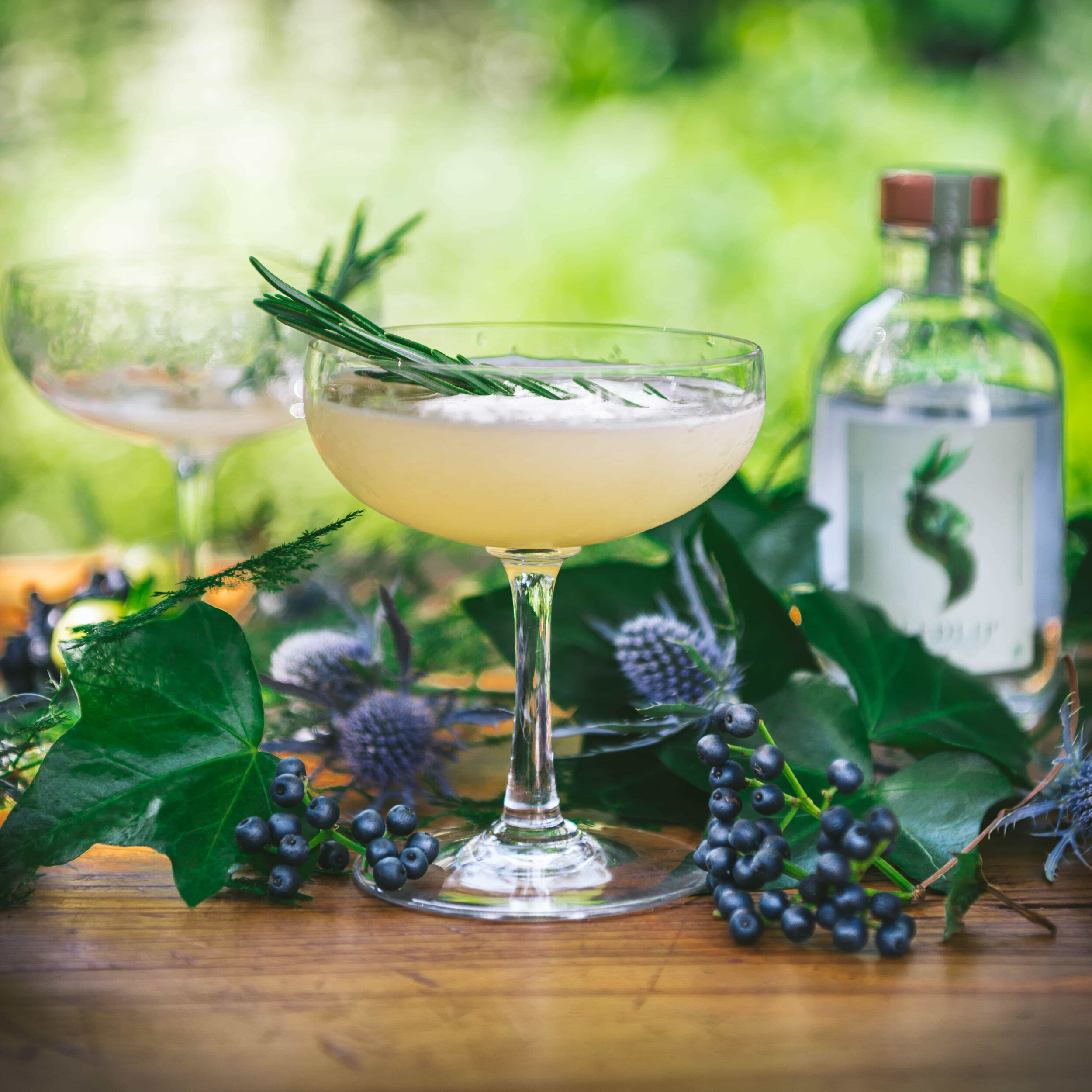 """Seedlip Garden Sour - A clever Brit has turned his family's 300-year-old English pea farm into an entrepreneurial 21st century agricultural innovation company where botany, alchemy, and a bit of ingenious branding strategy have successfully distilled the world's first non-alcoholic spirits. Setting about to solve the riddle of """"what to drink when you're not drinking,"""" Ben Branson grows, blends, and bottles alcohol free, sugar free, calorie free, and allergen free distilled spirits into grown up zero proof, perfectly balanced cocktail blends for any non-drinker. The Garden Sour is made with the Garden 108 blend, a reference to """"the average number of days it takes to sow, grow, and hand-harvest"""" the peas growing on his farm three hours north of London. This is a pucker-up recipe that is every bit as wonderful as creations made by the world's best mixologists. Served at NoMad in New York City, one of the world's best bars, should be proof enough that it a cocktail with serious credibility."""