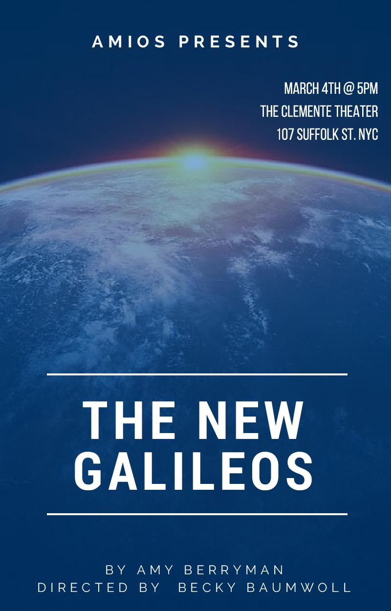 The New Galileos      Three female climate change scientists find themselves held hostage by the government. Time bends as the women discover just how much they can trust each other and question the price of their freedom.