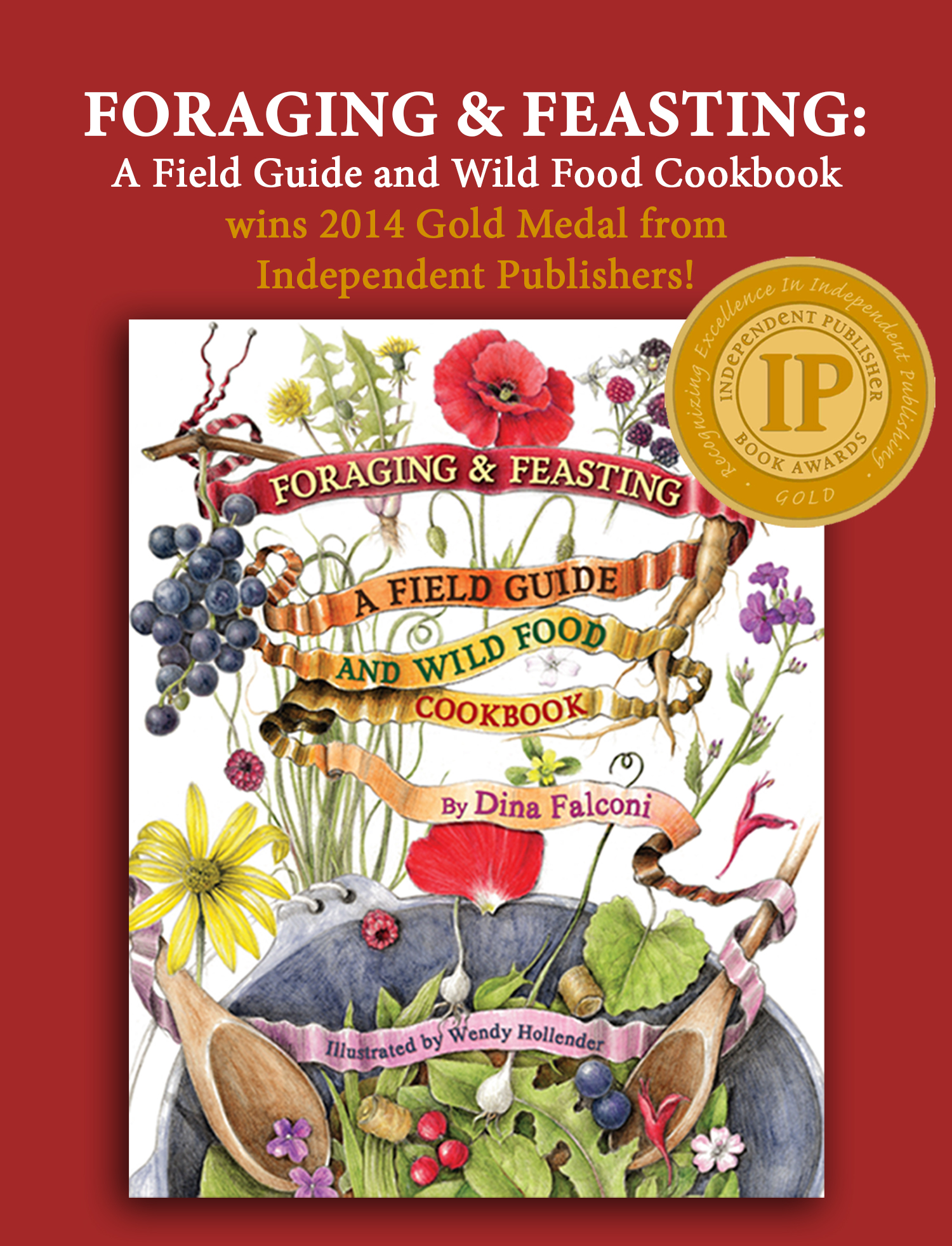 May 2014: Foraging & Feasting wins the Gold IPPY Award