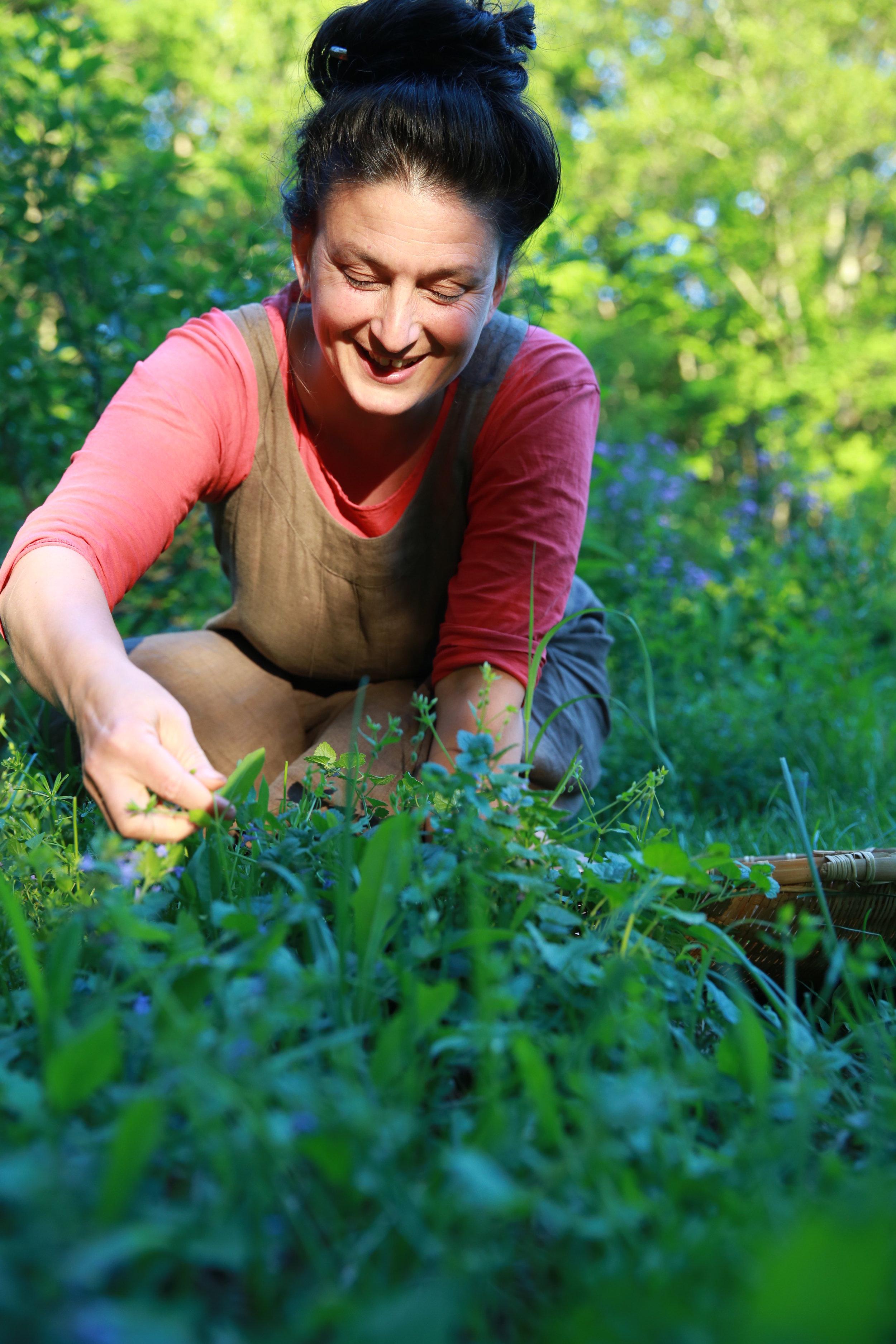 Dina in plants 6_1_13.jpg