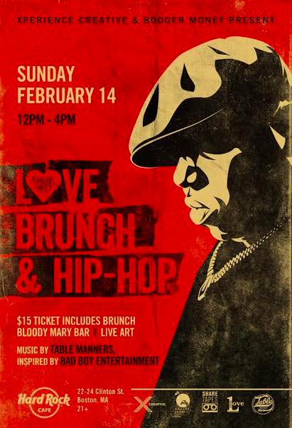 Love, Brunch and Hip Hop.