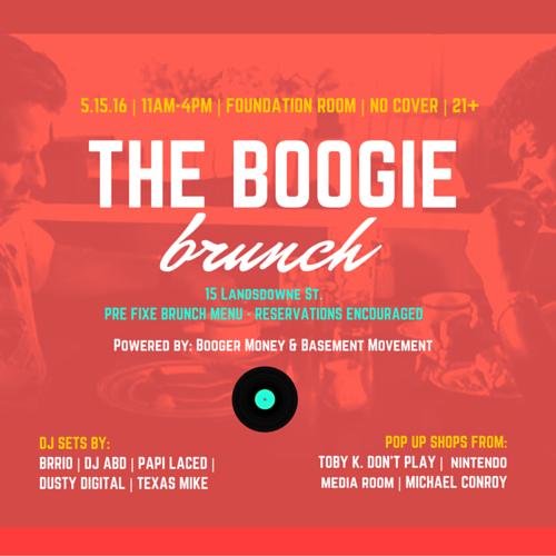 The Boogie Brunch Series