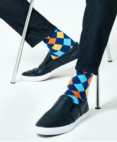 Able Made Haute Step Statement Socks
